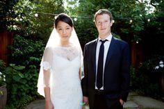 Priscilla 和 Mark 的结婚纪念照片。