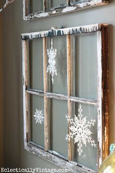 DIY Home Sweet Home: 15 Rustic Farmhouse Christmas Decorations