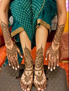 Bridal Mehndi Designs for Full Hands Images 2013: Indian Bridal Mehndi