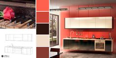 Eleganță și romantism într-o bucătărie de vis! 😊🌹🎹 Bathroom Lighting, Mirror, Furniture, Home Decor, Bathroom Light Fittings, Homemade Home Decor, Decoration Home, Room Decor, Mirrors