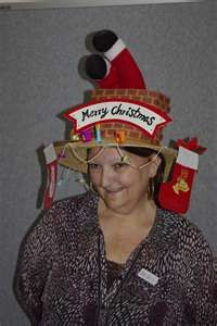 a54d3b21b1b40 tiz the season once Blanche breaks out her hat Funny Christmas Hats