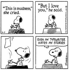 Even Snoopy Gets the Writing Blues ROMANCE AUTHOR Amy Lillard http://www.amywritesromance.com
