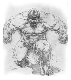 """""""Hulk"""" Character property of Marvel Comics. ___________________________________ This was suppose to be a """"quick"""" sketch, hehe, buuut, I kinda got annal . Marvel Comics, Marvel Dc, Arte Dc Comics, Hulk Comic, Hulk Avengers, Comic Art, Hulk Hulk, Marvel Drawings, Art Drawings Sketches"""