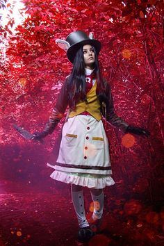 Alice Madness Returns Cosplay Costume Bunny