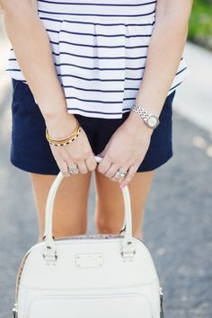 Kate Spade bangles and bag Kacee from Life with Lipstick On