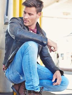 Men's leather jackets...........