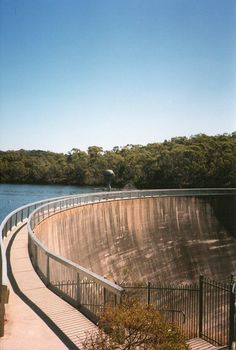 The whispering wall in the Barossa Valley, South Australia