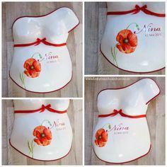 Wonderful poppy belly cast and birthdates on it. Mady by Julia Schulze, Germany