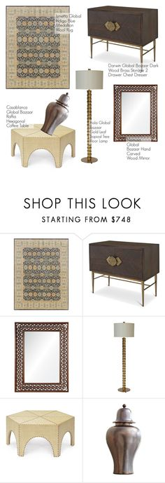 """""""Global Bazaar"""" by kathykuohome ❤ liked on Polyvore featuring interior, interiors, interior design, home, home decor, interior decorating, homedecor and globalbazaar"""