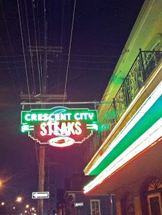 Neon in New Orleans.  La Belle Esplanade Bed and Breakfast: 3 Questions about New Orleans