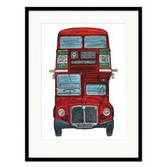 barry goodman routemaster print