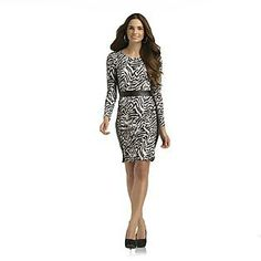 Women's Dress - Tiger Striped