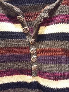 Ravelry: LisaM87's Driftwood striped sweater