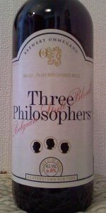 Three Philosophers Belgian Style Blend (Quadrupel) - Brewery Ommegang - Cooperstown, NY - BeerAdvocate