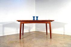 Danish Modern Teak Dining Table (extendable) Svend by GoodBonesVintageCo (free shipping)