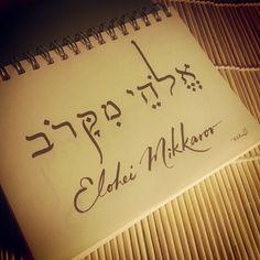 Elohei Mikkarov (God Who Is Near)~~