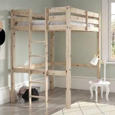 fcb62e86c07 Just Kids Colburn High Sleeper Bed