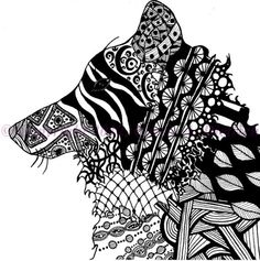 Beautiful Black & White Drawing
