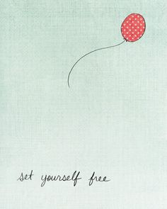 set yourself free (would love to pain this on a wall or next to a book reading nook)