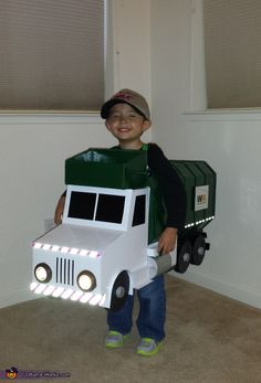 Ryan: My youngest son really wanted to be a garbage truck this year for Halloween. I built this costume in two weeks but spent many long nights on it just so...