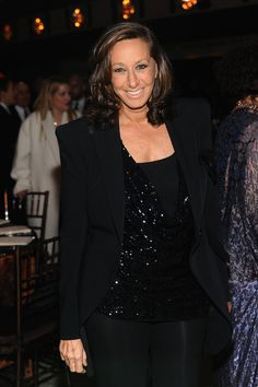 Designer donna Karan attends The Film Society of Lincoln Center's 40th Chaplin Award Gala supported by Grey Goose vodka at Avery Fisher Hall, Lincoln Center on April 22, 2013 in New York City.