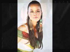 Beautiful Native American Women/Red Skin Girl by Northern Cree
