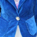 How to Sew a Blazer – Pockets, Back and Sides