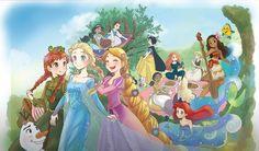 Twisted Disney, Disney Princesses, Disney Characters, Fictional Characters, Princess Zelda, Disney Princes, Disney Face Characters, Disney Princess