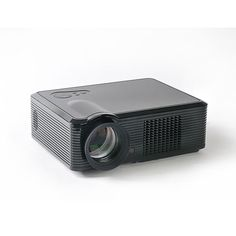 Koolertron HD LED Projector Resolution 2000 Lumens Contrast Ratio Support Home Theater Games or Business Best Portable Projector, Led Projector, Theatre Games, Hd Led, Home Theater, Contrast, Business, Mini, Home Theaters