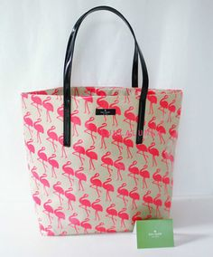 Kate Spade Daycation Flamingo bag. *Sigh* <3