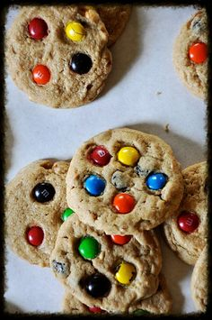 Trail Mix Cookies by