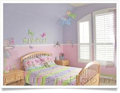 Decoration in Little Girl Room Decor Ideas Decorate A Girls Bedroom Kids Wall Decor Girls Room Tips Girls Bedroom, Girls Room Paint, Purple Bedrooms, Teenage Girl Bedrooms, Teenage Room, Girl Bedroom Designs, Little Girl Rooms, Bedroom Colors, Bedroom Decor
