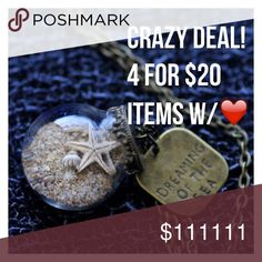 "4 items for $20!! Best bundle offer! Any items with a ""❤️"" in the title can be added to a bundle for this special deal! Please use the bundle (4 items in my closet with the ❤️ in the title)>offer on bundle>submit $20 offer> to purchase one of these awesome bundles. *ship same/next day *no holds/trades *pet free *smoke free home Intimates & Sleepwear"