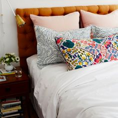 From the perfect pillow formula to the haute headboard