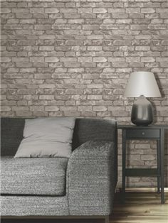 brick wall paper £8.99 per roll
