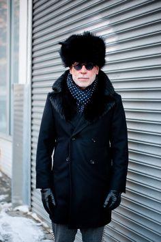 ストリートスナップニューヨーク - nick woosterさん - THOM BROWNE.NEW YORK, トムブラウンニューヨーク