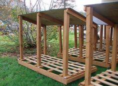 Bauanleitung Fahrradunterstand Diy Pergola Backyard Garden