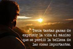 #lascosasimportantes