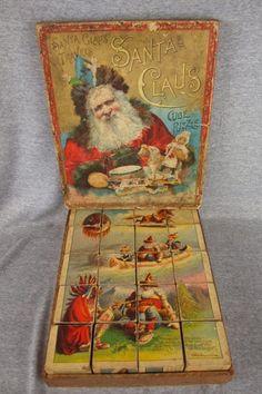 Christmas Games, Christmas Past, Christmas Books, White Christmas, Christmas Crafts, Christmas Ornaments, Christmas Stuff, Christmas Ideas, Vintage Santas