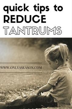 Looking for quick and easy ways to reduce toddler tantrums? Read on for some easy tools you can start using now!