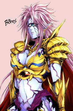 armor boros breasts cleavage earrings genderswap large breasts long hair lord boros one-punch man solo standing - Image View - One Punch Man Anime, One Punch Man Funny, Saitama, Anime Echii, Anime One, Anime Girls, Character Concept, Character Art, Character Design