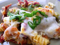 Baked Chicken and Artichoke Penne with Sundried Tomatoes