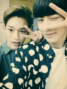 chen and chanyeol ~ #exo
