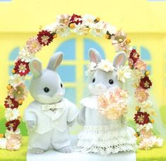 Sylvanian Families Wedding Outfits Sewing by AliceInCraftyland, $3.90