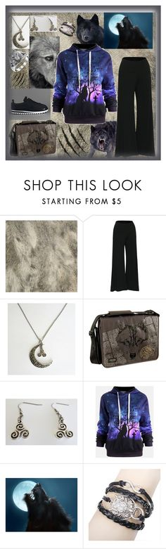 """Gamiss Contest - Canis Hoodie"" by aurorasblueheaven ❤ liked on Polyvore featuring GUNNAR, NIKE, Laurex and Bling Jewelry"