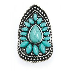 PURE WESTERN IRIS RING  Make a statement with this standout ring! $19.95