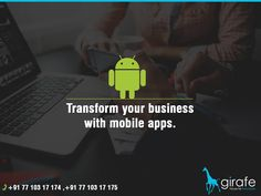 The Girafe is a best Mobile App Dvelopment Company that offers iOS & Android app development services in a budget friendly manner. Website Development Company, Mobile App Development Companies, Mobile Application Development, Software Development, Web Design Services, Web Design Company, Best Web Design, Best Mobile, Digital Marketing
