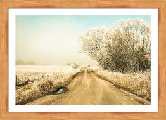 Winter Framed Print featuring the photograph Winter Road Wonderland by Ryan Jorgensen
