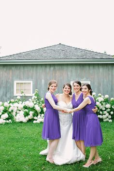 Bridesmaids - Purple Dresses - Markham Museum - #Toronto #wedding #photography Markham Museum, Bridesmaids, Bridesmaid Dresses, Wedding Dresses, Toronto Wedding, Purple Dress, Wedding Photos, Wedding Photography, Fashion