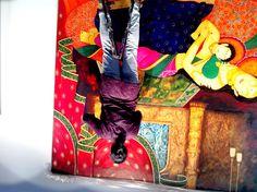 16 feet X 8 feet Painting at Buddha International Museum By Meenakshi Jha Banerjee